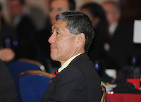 DC United Executive Chairman William H.C. Chang, at the 2011 Season Kick off Luncheon, at the Marriott Hotel in Washington DC, Wednesday March 16 2011.