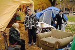 Issues between people really started getting acid about three weeks into the camp. Not only were some young and old people at odds but  political and philosophical differences took out members. Occupy Windsor, Canada, November 2011.