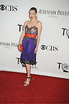 Amanda Seyfried attends th 66th Annual Tony Awards on June 10, 2012 at The Beacon Theatre in New York City.