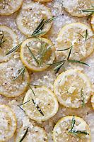 Lemon seasoning ready to cook fish