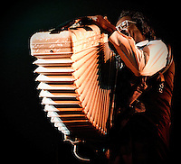 Buckwheat Zydeco playing at Voodoo Festival 2010 in New Orleans.