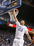 UK guard Jamal Murray (23) goes up for a layup during the UK Men's Basketball vs. Florida Gators game at Rupp Arena. Saturday, February 6, 2016 in Lexington, Ky. UK defeated Florida 80 - 61