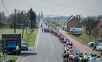 stretched peloton<br /> <br /> 79th Gent-Wevelgem 2017 (1.UWT)<br /> 1day race: Deinze &rsaquo; Wevelgem - BEL (249km)