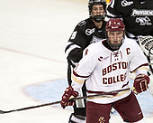 Kyle McKenzie (PC - 5), Chris Calnan (BC - 11) - The Boston College Eagles defeated the visiting Providence College Friars 3-1 on Friday, October 28, 2016, at Kelley Rink in Conte Forum in Chestnut Hill, Massachusetts.The Boston College Eagles defeated the visiting Providence College Friars 3-1 on Friday, October 28, 2016, at Kelley Rink in Conte Forum in Chestnut Hill, Massachusetts.