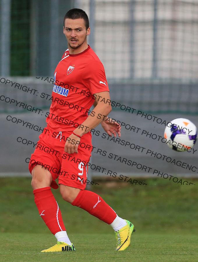 Fudbal season 2013-2014<br /> FK Crvena Zvezda pripreme<br /> Prijateljski mec<br /> Crvena Zvezda v Verzej<br /> Djordje Despotovic<br /> Brezice, 07.09.2014.<br /> foto: Srdjan Stevanovic/Starsportphoto &copy;