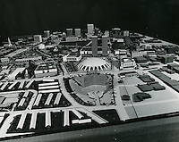 1968 ....Model of Downtown Norfolk ..Sam McKay.NEG# SLM68-9-2.NRHA#..