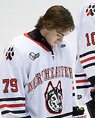 Cody Ferriero (Northeastern - 79) - The Northeastern University Huskies defeated the visiting Providence College Friars 5-0 on Saturday, November 20, 2010, at Matthews Arena in Boston, Massachusetts.