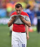 FUSSBALL WM 2014  VORRUNDE    Gruppe A    12.06.2014 Brasilien - Kroatien Ivica Olic (Kroatien)
