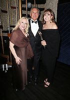 Hollywood, CA - February 19: Michele Elyzabeth, Andrew Ordon, Linda Gray At 3rd Annual Hollywood Beauty Awards_Inside, At Avalon Hollywood In California on February 19, 2017. Credit: Faye Sadou/MediaPunch