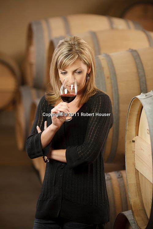 Portrait of Brandy Andes - Winemaker - Constellation Wines