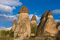 the speciel stone formation of cappadocia turkey