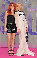 Georgia May Jagger &amp; Clara Paget at the &quot;Suicide Squad&quot; European film premiere, Odeon Leicester Square cinema, Leicester Square, London, England, UK, on Wednesday 03 August 2016.<br /> CAP/CAN<br /> &copy;CAN/Capital Pictures /MediaPunch ***NORTH AND SOUTH AMERICAS ONLY***