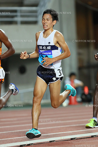 Takashi Ichida, <br /> SEPTEMBER 24, 2016 - Athletics : <br /> The 64th All Japan Industrial Athletics Championship <br /> Men's 10000m <br /> at Yanmar Stadium Nagai, Osaka, Japan. <br /> (Photo by YUTAKA/AFLO SPORT)