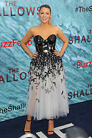 """NEW YORK, NY - June 21: Blake Lively attends the New York premiere for """"The Shallows"""" at the Loews AMC on June 21, 2016 in New York City . Credit: John Palmer/ MediaPunch"""