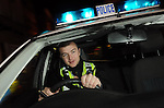 Supercop Sergeant Ali Livingstone,  Britain's most effective police officer. On Night Patrol in Ipswich, Suffolk..