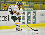 9 October 2009: University of Vermont Catamount defender Shannon Bellefeuille, a Freshman from Kanata, Ontario, in first period action against the Union Dutchwomen at Gutterson Fieldhouse in Burlington, Vermont. The Catamounts shut out the visiting Dutchwomen 2-0 to start off the Cats' 2009 season. Mandatory Credit: Ed Wolfstein Photo