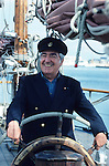 Alvaro Mutis (1923-2013) in Saint Malo, France.