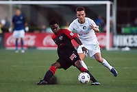 HEMPSTEAD, NY – AUGUST 24: The New York Cosmos host the San Antonio Scorpions in an NASL match on August 24, 2013 at Hofstra University's Shuart Stadium in Hempstead, New York.