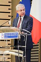 Claude Bartolone - ASSEMBLEE DES DEPARTEMENTS DE FRANCE AVEC LES CANDIDATS A L'ELECTION PRESIDENTIELLE