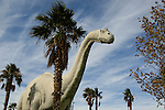 Roadside Dinosaur attraction on Rte. 10 in Cabazon near Palm Springs