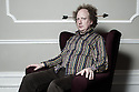 "Harrogate, UK. 14.06.2012. Political Satirist, Andy Zaltzman, in his solo show, ""Armchair Revolutionary"", at the Sitting Room Comedy Club, Harrogate, UK. Photo credit: Jane Hobson."