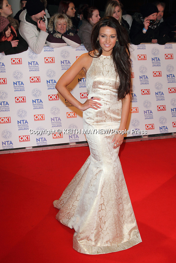 London - National Television Awards at the O2 Arena, London - January 23rd 2013..Photo by Keith Mayhew