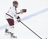 Kaliya Johnson (BC - 6) - The Boston College Eagles defeated the visiting Cornell University Big Red 4-3 (OT) on Sunday, January 11, 2012, at Kelley Rink in Conte Forum in Chestnut Hill, Massachusetts.