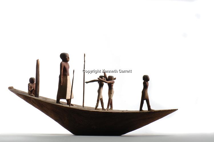 Kerma C group solar boat, Black Pharaohs, Nubians, Egypt, Aswan, Nubian Museum