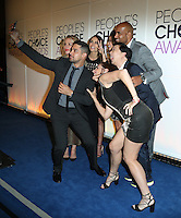 BEVERLY HILLS, CA - NOVEMBER 15: Wilmer Valderrama, Piper Perabo, Jordana Brewster, Jamie Chung, Ken Jeong, Molly Shannon and Boris Kodjoe attend the People's Choice Awards Nominations Press Conference at The Paley Center for Media on November 15, 2016 in Beverly Hills, California. (Credit: Parisa Afsahi/MediaPunch).