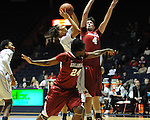 "Ole Miss vs. Arkansas at the C.M. ""Tad"" Smith Coliseum in Oxford, Miss. on Thursday, January 12, 2012. Ole Miss won 60-54."