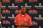 Brian OÕNeal was named the new track coach at Ole Miss during a press conference in Oxford, Miss. on Tuesday, June 12, 2012.