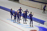 SCHAATSEN: HEERENVEEN: 15-09-2014, IJsstadion Thialf, Topsporttraining, Team Continu, ©foto Martin de Jong