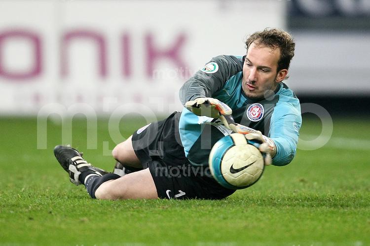 FUSSBAL    REGIONALLIGA NORD/DFB POKAL    SAISON 2007/2008 Torwart Christian MALY (Wuppertaler SV)