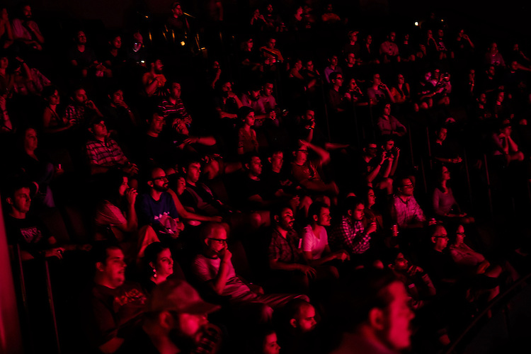 The crowd at Matthew E. White at Fletcher Opera Theater on Thursday September 6, 2012.