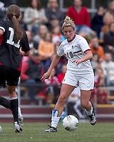 Boston College forward/midfielder Gibby Wagner (10) on the attack. Boston College defeated North Carolina State,1-0, on Newton Campus Field, on October 23, 2011.