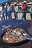 In October, the 22nd Annual Lincoln County Cowboy Symposium brought together chuckwagon crews and cooks from ranches all over the southwest to compete in preparing food for a hungry crowd.