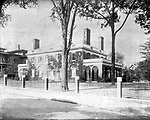 Frederick Stone negative. George Goss house, Church Street. Undated photo.