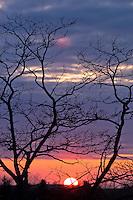 Sunset in Door County, Wisconsin.