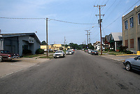 1990 June ..Conservation.MidTown Industrial...LOOKING EAST ON 25TH STREET.BETWEEN FAWN & GAZEL STREET...NEG#.NRHA#..