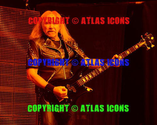 HOLLYWOOD FL - OCTOBER 30 : Ian Hill of Judas Priest perform at Hard Rock Live held at the Seminole Hard Rock Hotel & Casino on October 30, 2014 in Hollywood, Florida. : Credit Larry Marano (C) 2014