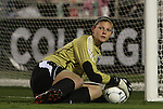 04 December 2009: Notre Dame's Nikki Weiss. The University of North Carolina Tar Heels defeated the Notre Dame University Fighting Irish 1-0 at the Aggie Soccer Complex in College Station, Texas in an NCAA Division I Women's College Cup Semifinal game.