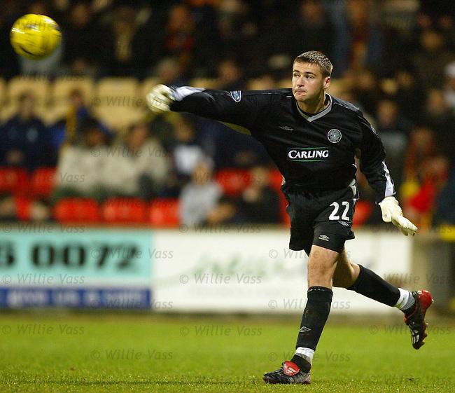 David Marshall, Celtic.pic willie vass