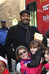 Actor Jesse L. Martin Arrives With Toys At The POLICE ATHLETIC LEAGUE AND CITYSIGHTS NY TEAM UP FOR ANNUAL HOLIDAY PARTY AND TOY DRIVE At The Police Athletic League, Harlem NY  12/15/12