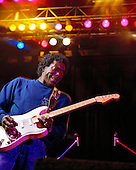 BUDDY GUY, LIVE, 1990, PETER AMFT