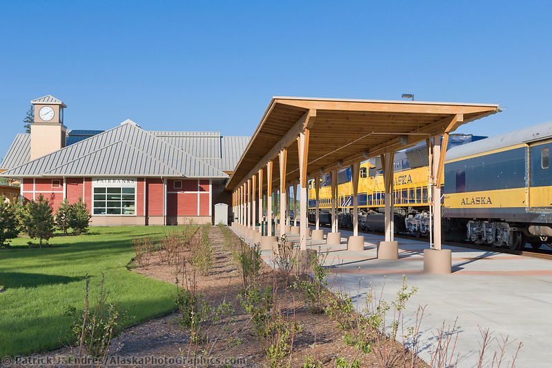 Alaska Railroad Depot, Fairbanks, Alaska