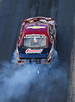 Jun 17, 2016; Bristol, TN, USA; NHRA pro stock driver Greg Anderson during qualifying for the Thunder Valley Nationals at Bristol Dragway. Mandatory Credit: Mark J. Rebilas-USA TODAY Sports