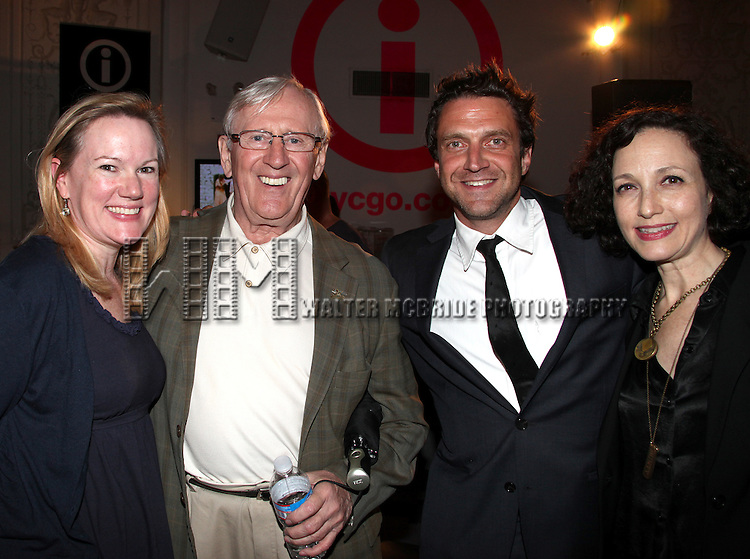 Kathleen Marshall, Len Cariou, Raul Esparza & Bebe Neuwirth.attending the Broadway League and Coalition of Broadway Unions and Guilds Presentation of The 3rd Annual Broadway Salutes in New York City.