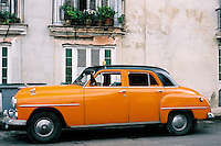 Havana Orange Car