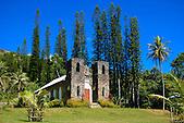 Eglise Saint-Paul, tribu de Pambou, région de Poindimié, côte Est, Nouvelle-Calédonie