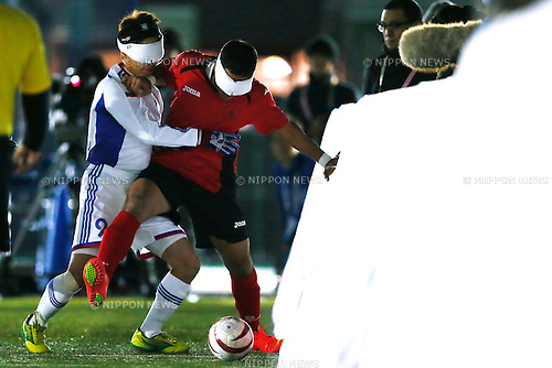 Kento Kato (JPN), NOVEMBER 18, 2014 - Football 5-a-sider : IBSA Blind Football World Championships 2014 Group A match between Japan 0-0 Morocco at National Yoyogi Stadium Futsal Court, Tokyo, Japan. [1180]